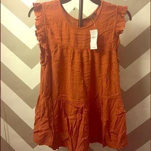 American Eagle sleeveless blouse